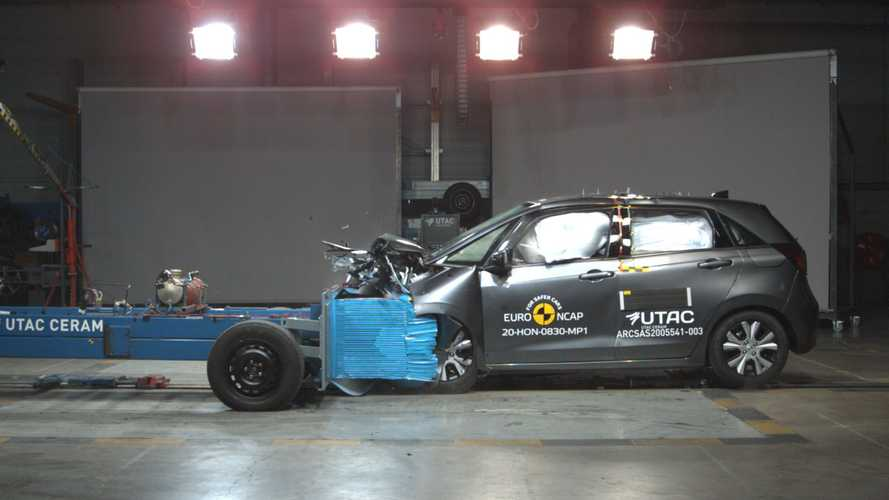 Nuova Honda Jazz, i crash test Euro NCAP