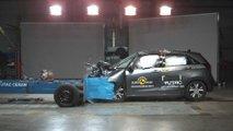 Nuova Honda Jazz, i crash test Euro NCAP
