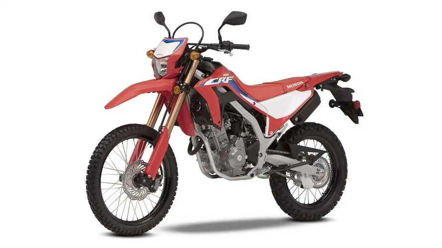 2021 Honda CRF300L and CRF300L
