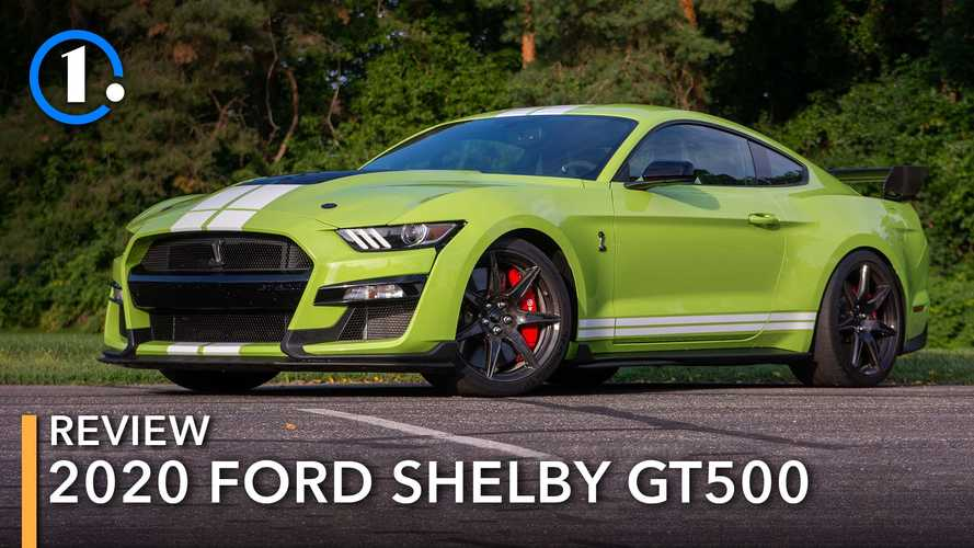 2020 Ford Mustang Shelby GT500 Review: More Than A Mustang