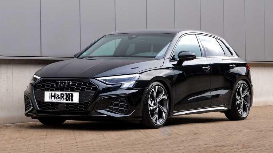H&R-Sportfedern und Stabis für den neuen Audi A3