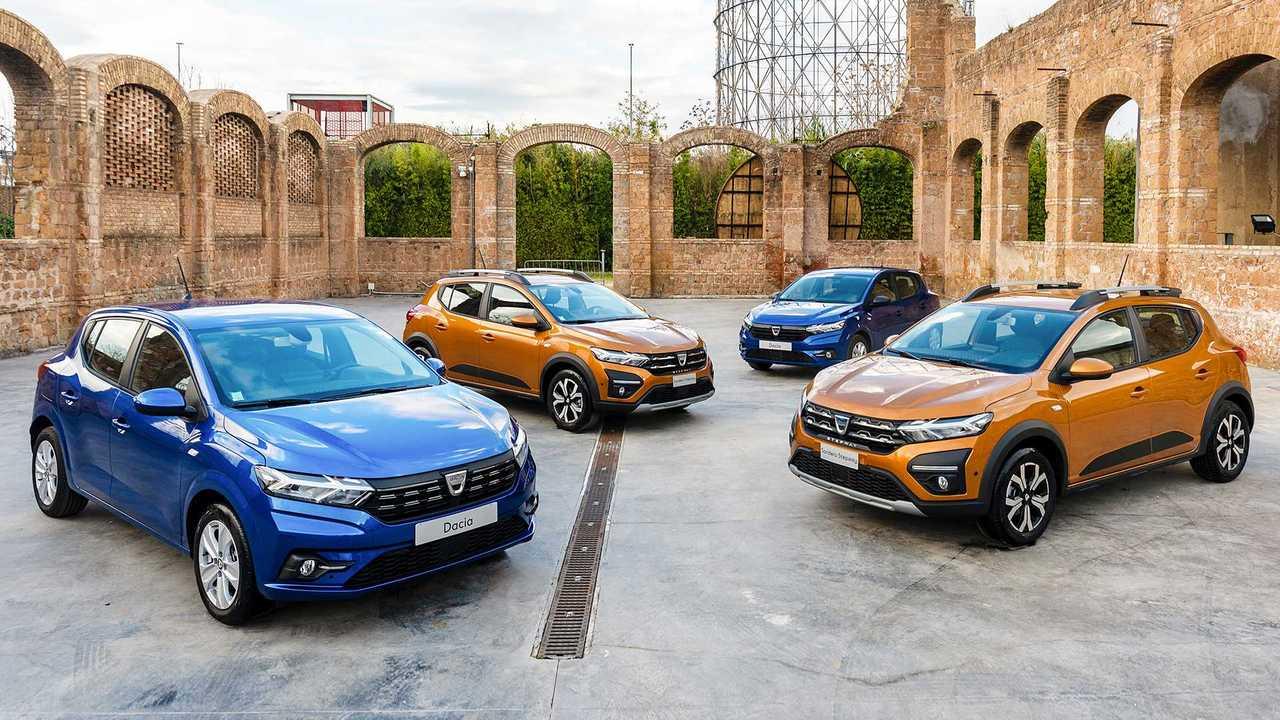 Nuova Dacia Sandero 2020, la gamma