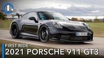 2021 porsche 911 gt3 prototype first ride