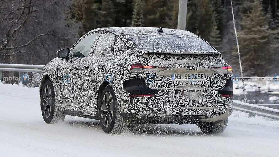 Audi Q4 e-tron Sportback casus fotoğraflar