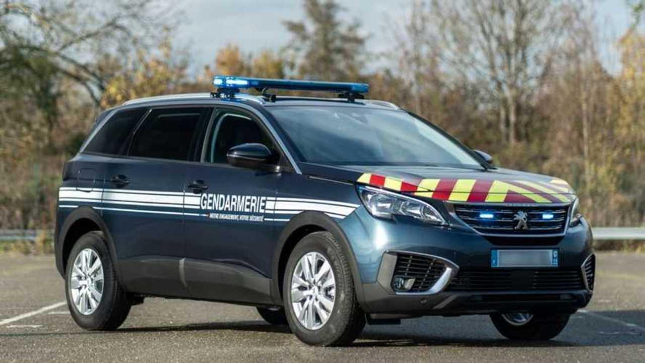 Peugeot 5008 de la Gendarmería francesa