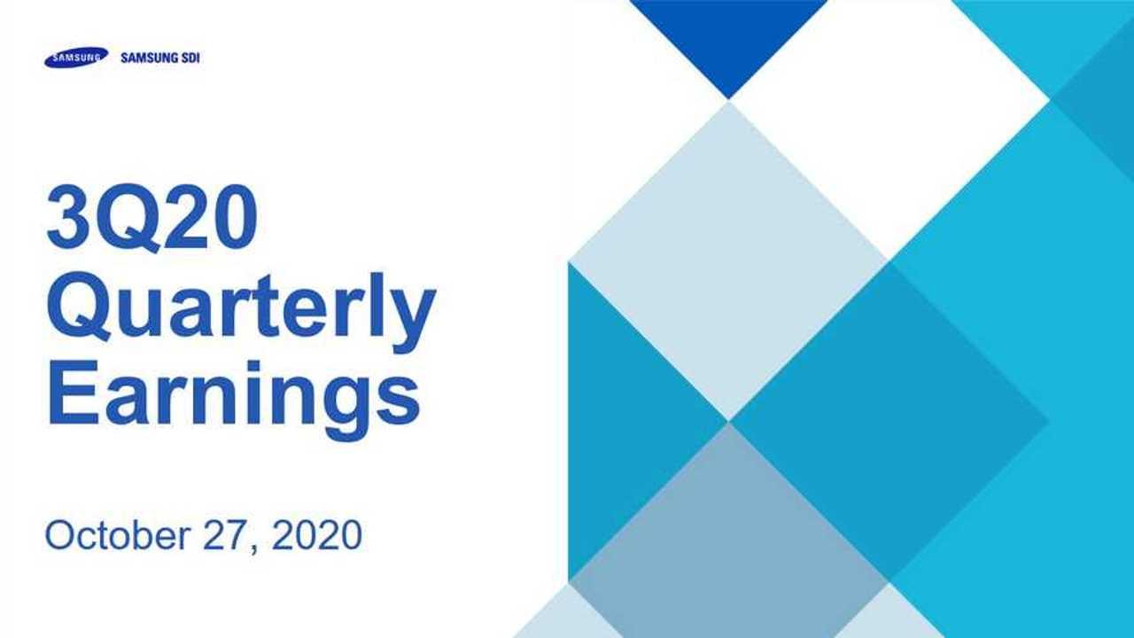 Samsung SDI Q3 2020