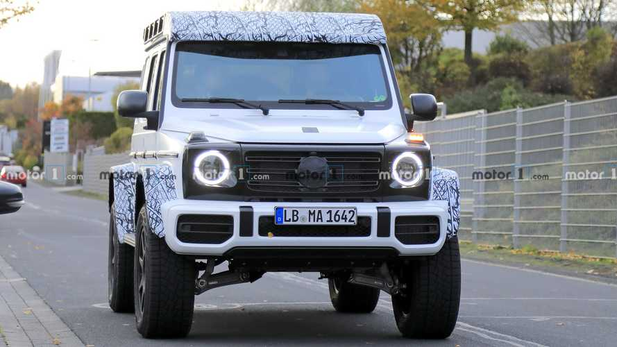 Mercedes G-Class Squared new spy photos