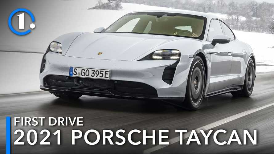2021 Porsche Taycan First Drive Review: Two-Wheel Good