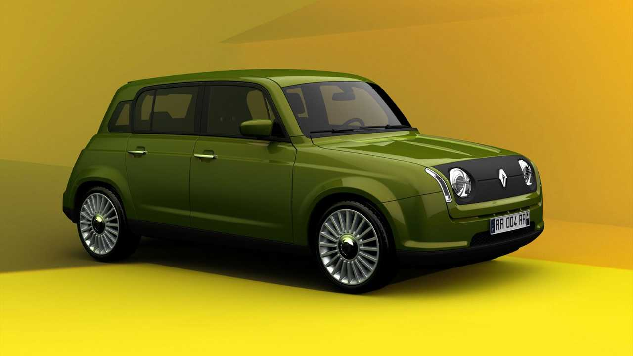 Could This 2011 Rendering Anticipate The Future Renault 4 EV?