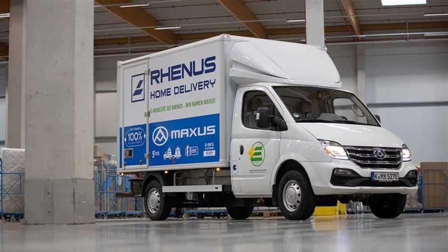 Maxus EV80: Elektro-Transporter bei Logistikdienstleister im Test