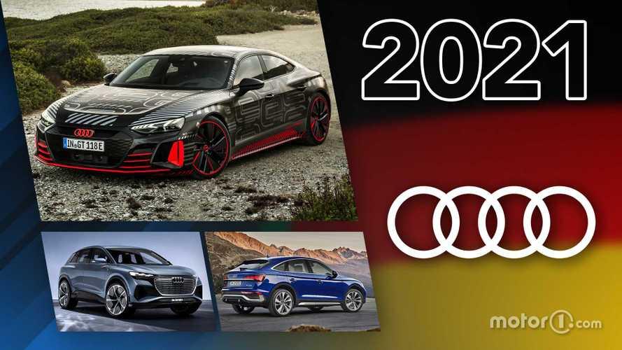 Novità Audi, ecco tutti i modelli in arrivo nel 2021