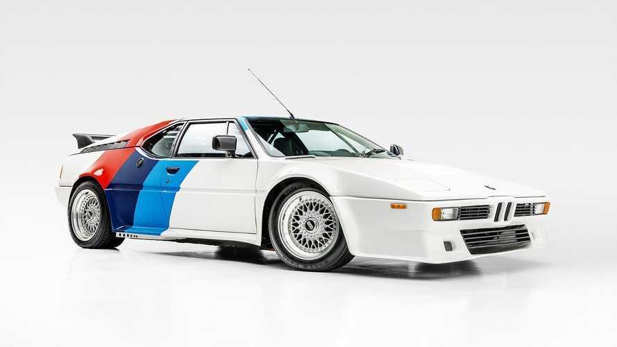 La BMW M1 ayant appartenu à Paul Walker adjugée 500'000 dollars