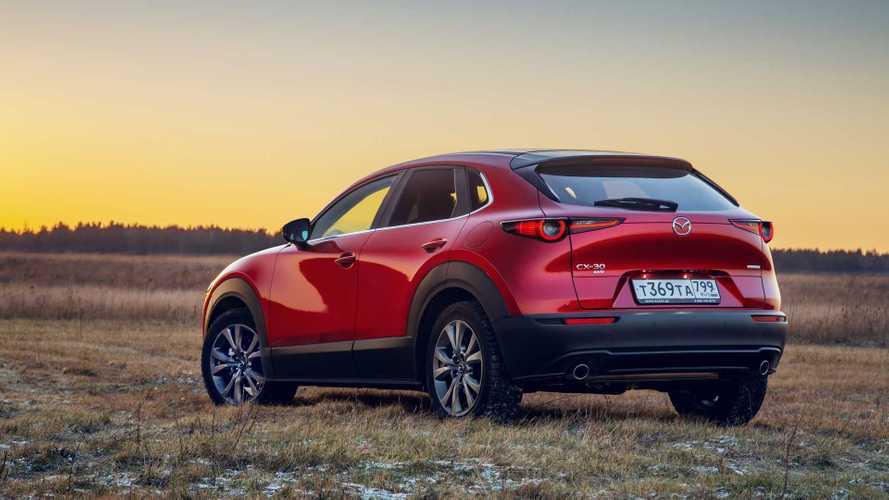 В Россию временно прекратили поставлять Mazda CX-30
