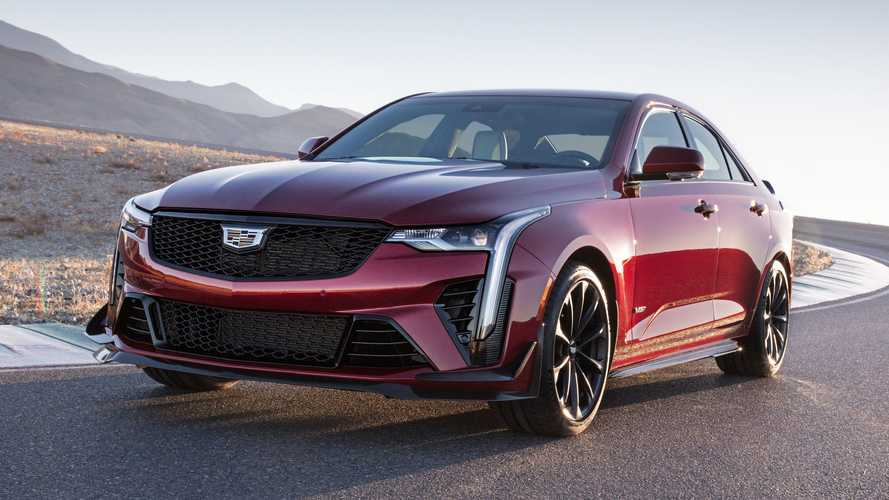 2022 Cadillac CT4-V Blackwing Revealed With Twin-Turbo V6 And A Manual