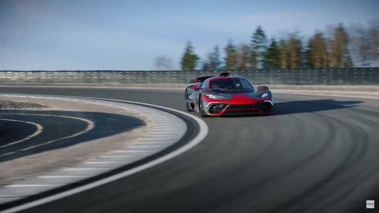 Mercedes-AMG One pista
