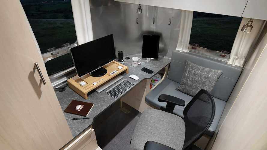 Airstream Introduces Trailer With An Office For Working From The Road