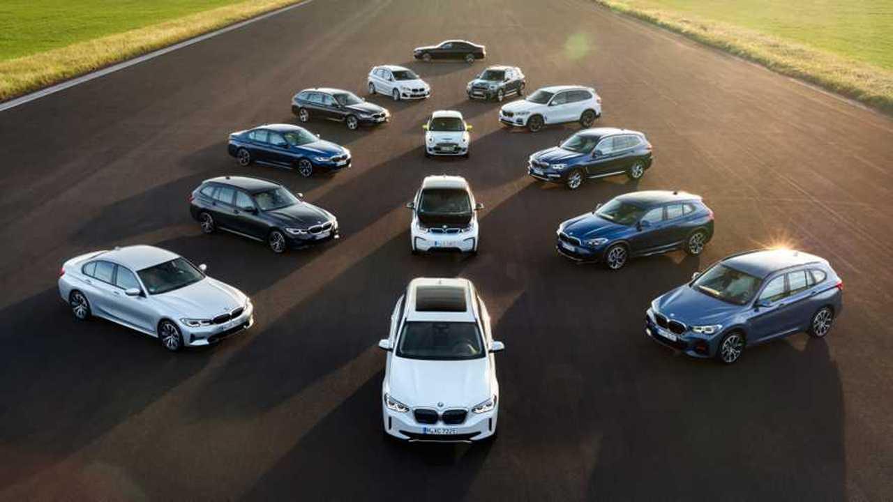 BMW 2021 lineup