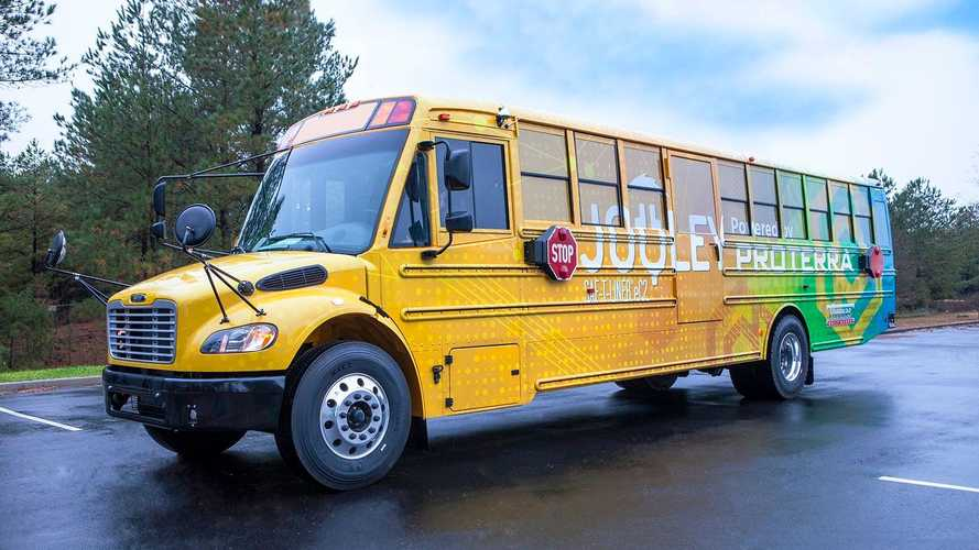 Thomas Built Buses Delivers Its 50th Electric School Bus