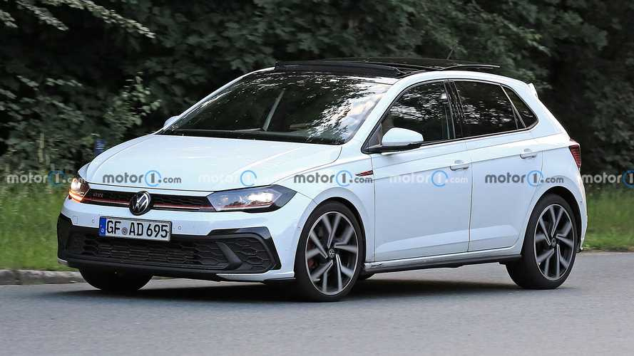 VW Polo GTI facelift spied for the first and probably last time