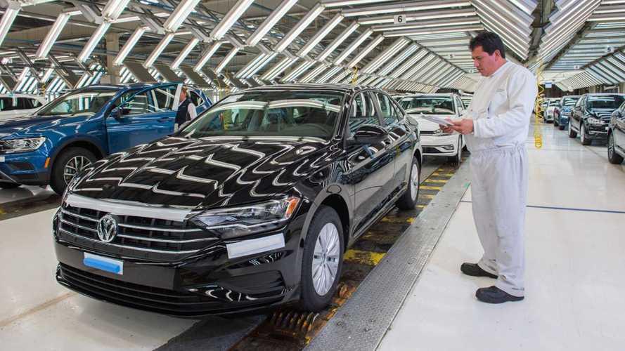 Volkswagen paralisa fabricação de Jetta e Tiguan no México