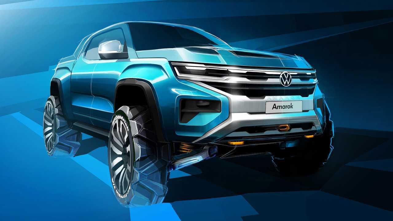 Next-generation Volkswagen Amarok teaser