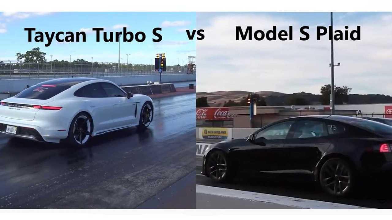 Model S Plaid vs Taycan turbo S