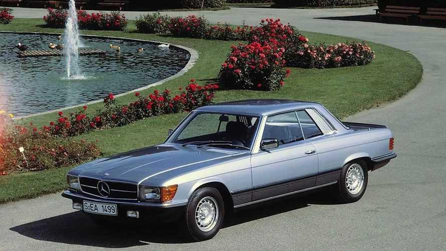 Mercedes SL ed SLC (R107-C107) 1971-1989