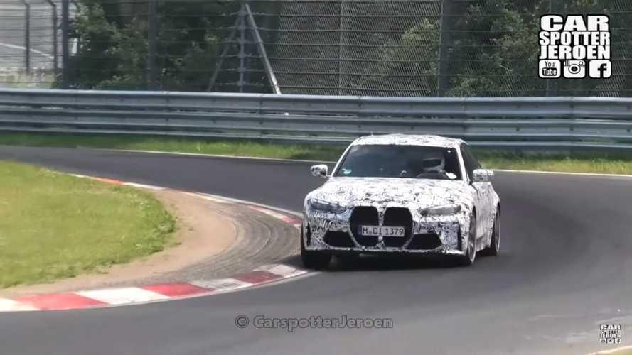 Vidéo - La probable BMW M3 CS  l'assaut de la Nordschleife