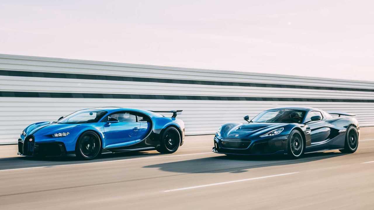 Bugatti And Rimac