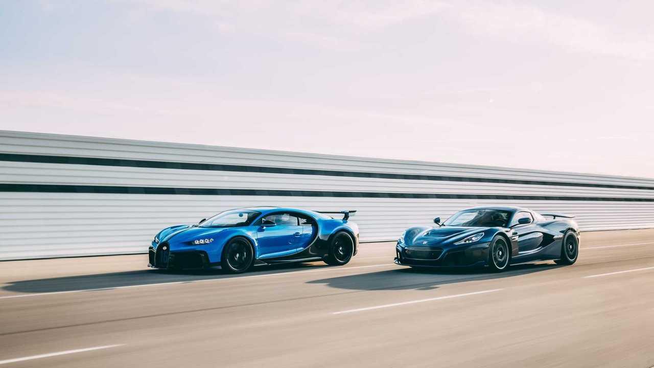 Bugatti ve Rimac güçlerini birleştirdi.