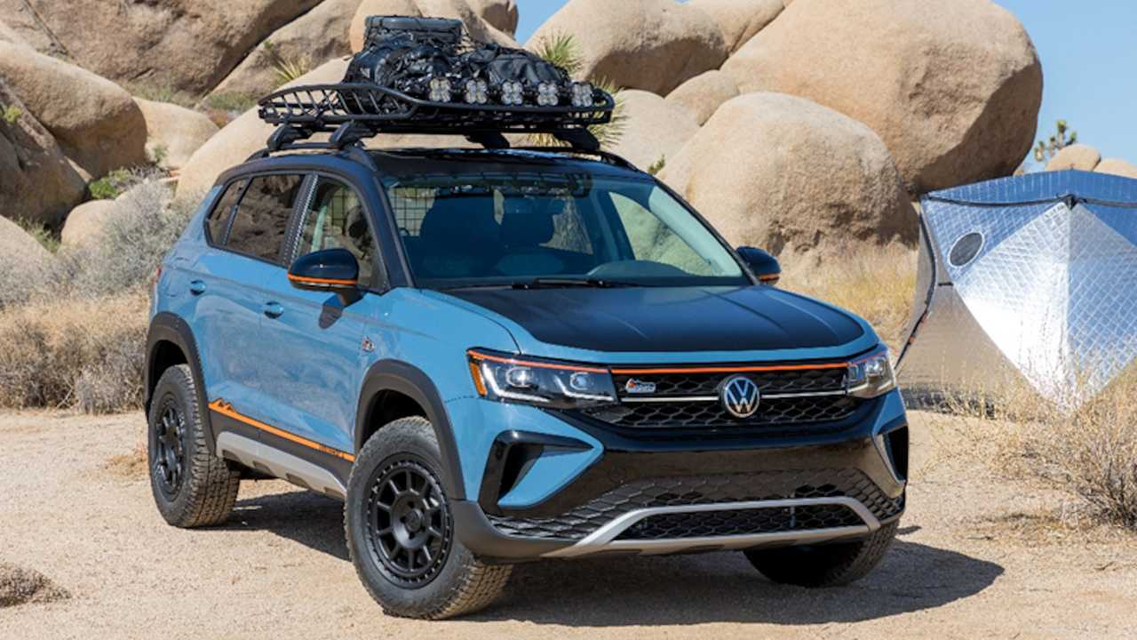 Volkswagen Taos Basecamp Concept enthüllt.