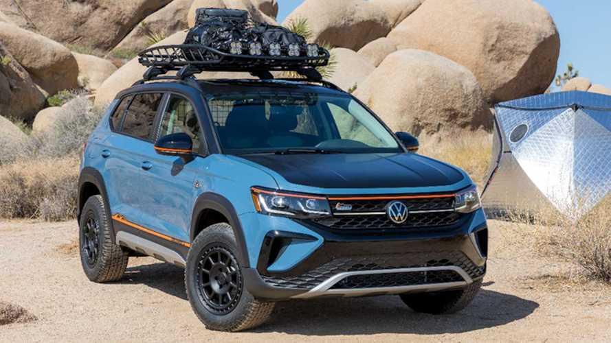 VW Taos Basecamp Concept Previews Future Accessories