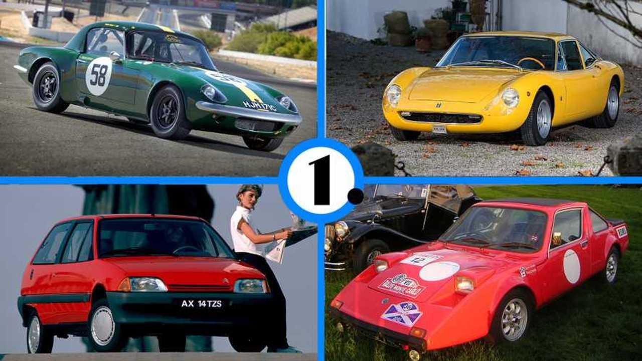 Los 10 coches más ligeros jamás fabricados