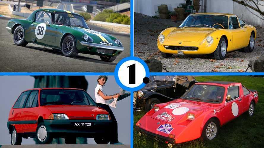 Les 10 voitures de route les plus légères