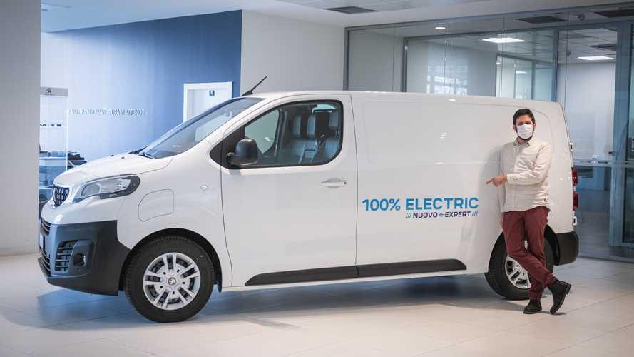 """Peugeot, un e-Expert per il vincitore di """"4 ristoranti con delivery"""""""