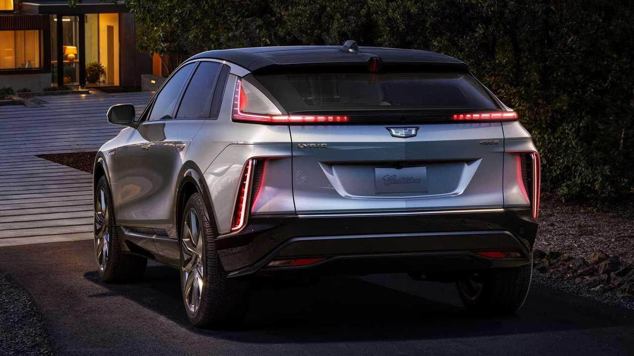 2023 Cadillac Lyriq Production Model Exterior