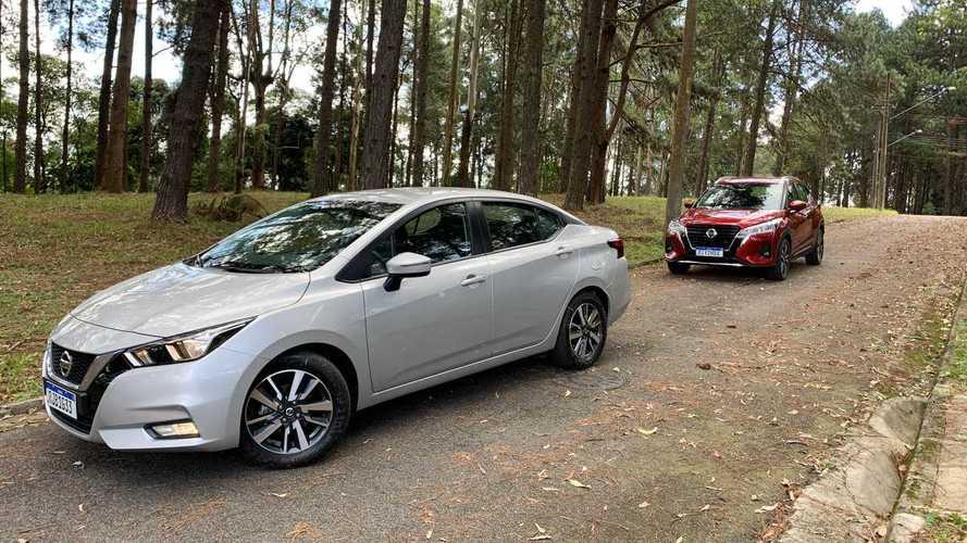 Comparativo: Nissan Kicks Advance vs. Nissan Versa Advance