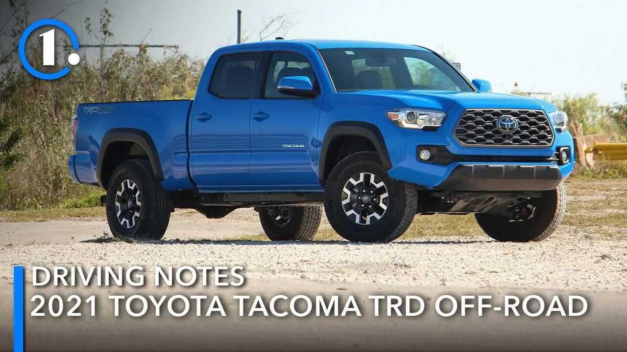 2021 Toyota Tacoma Driving Notes