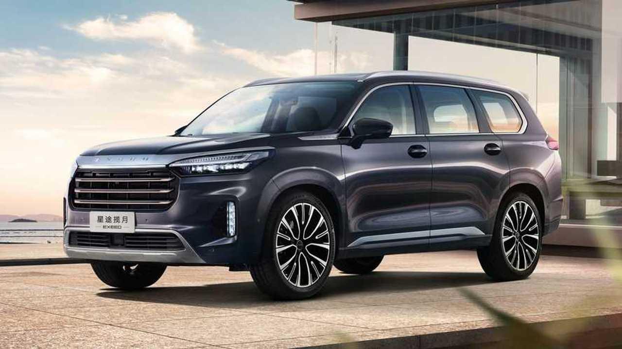 Exeed VX Lanyue, SUV premium chino