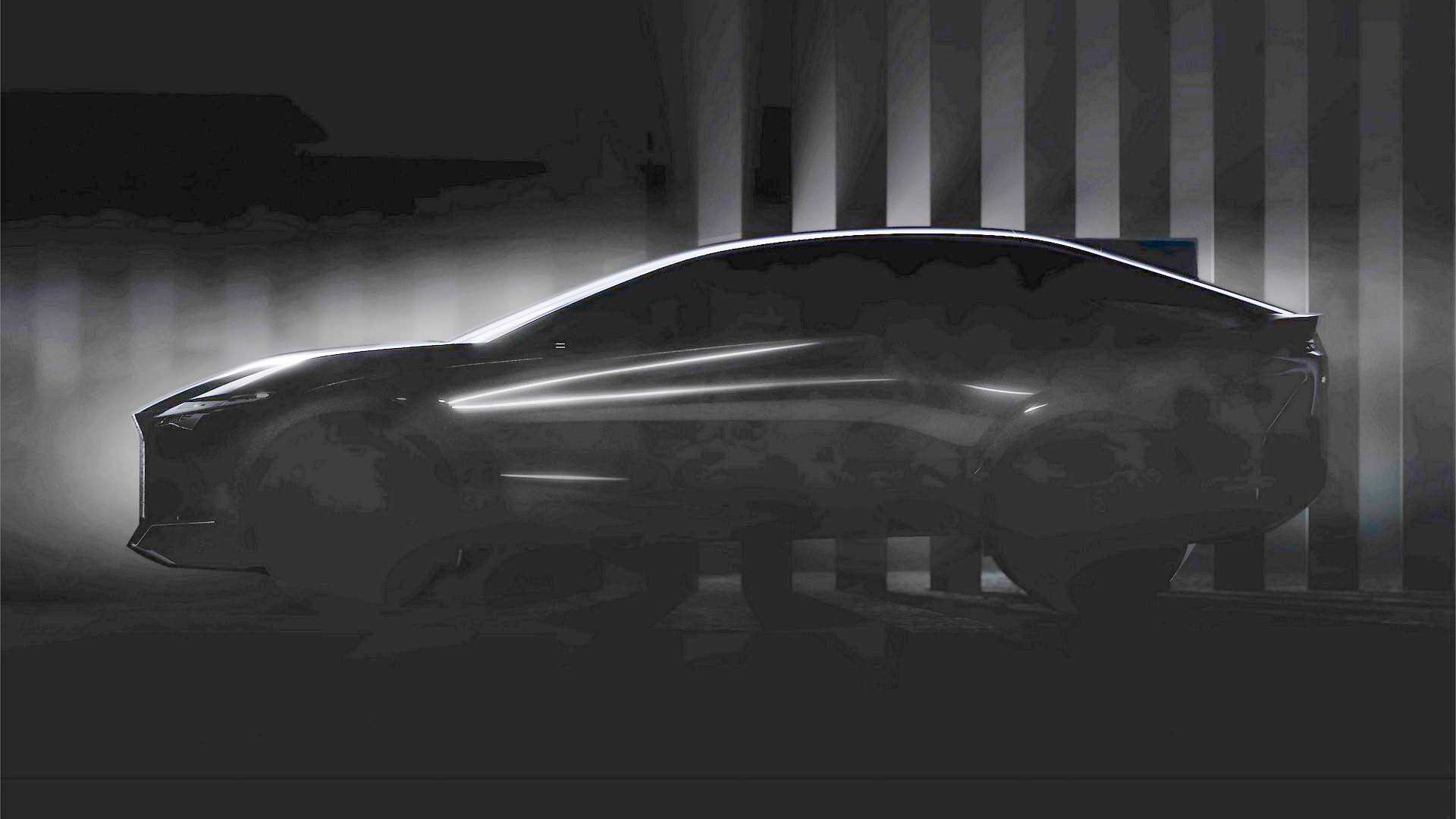 2021 Lexus concept car teaser (modified)