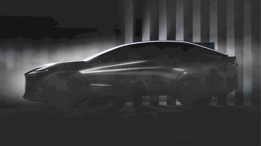 Lexus concept car teaser hints at sleek shape, debuts 30 March