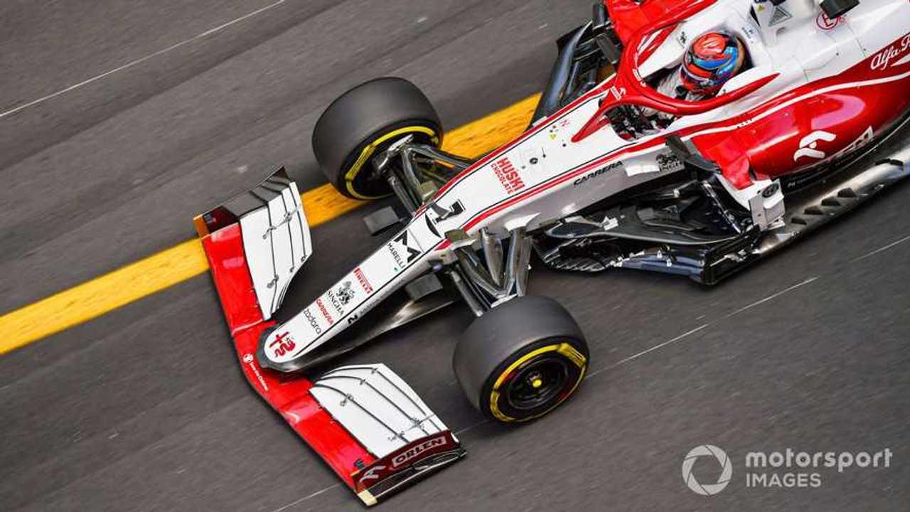 Kimi Raikkonen at Monaco GP 2021