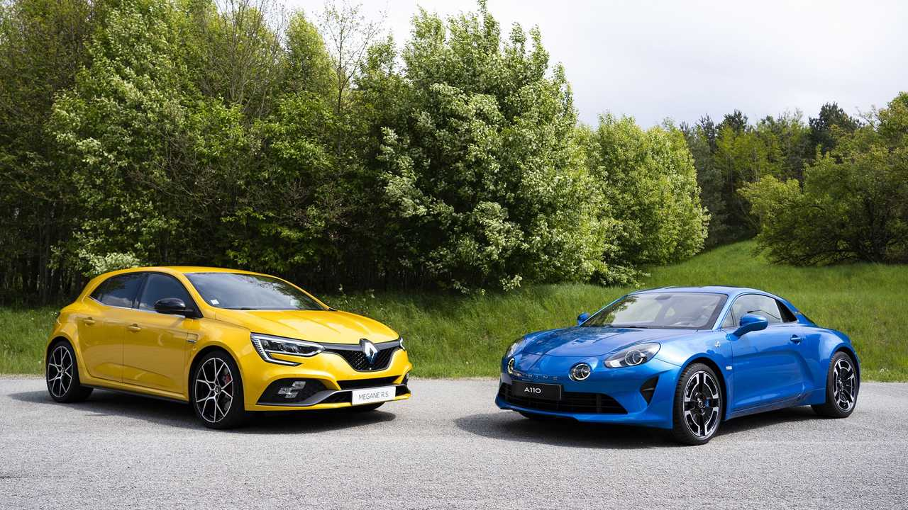 Renault Mégane R.S. et Alpine A110