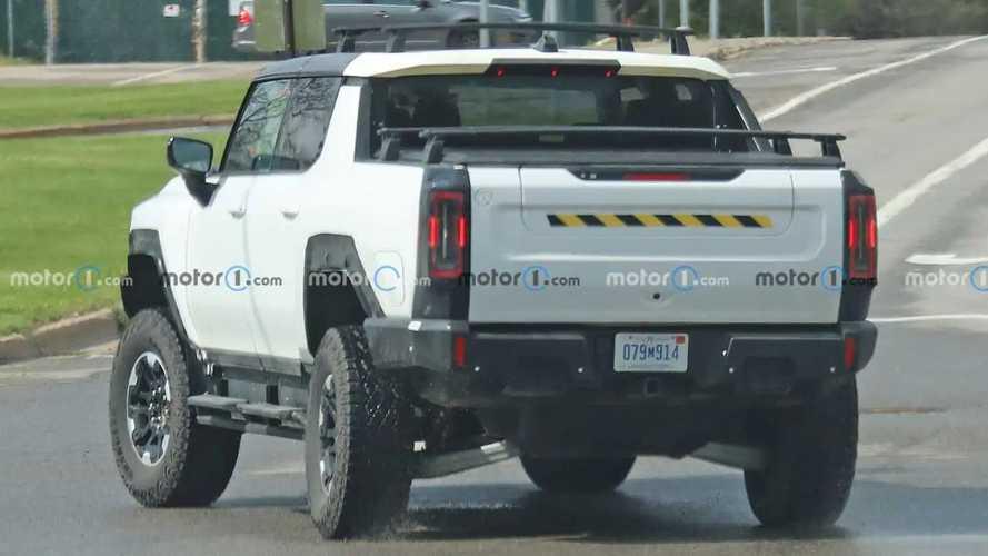 Hummer EV Spied Testing Accessories