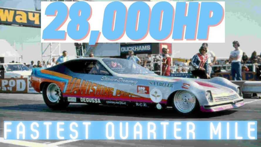 This Is What A Quarter Mile In 3.22 Seconds At 402 MPH Looks Like