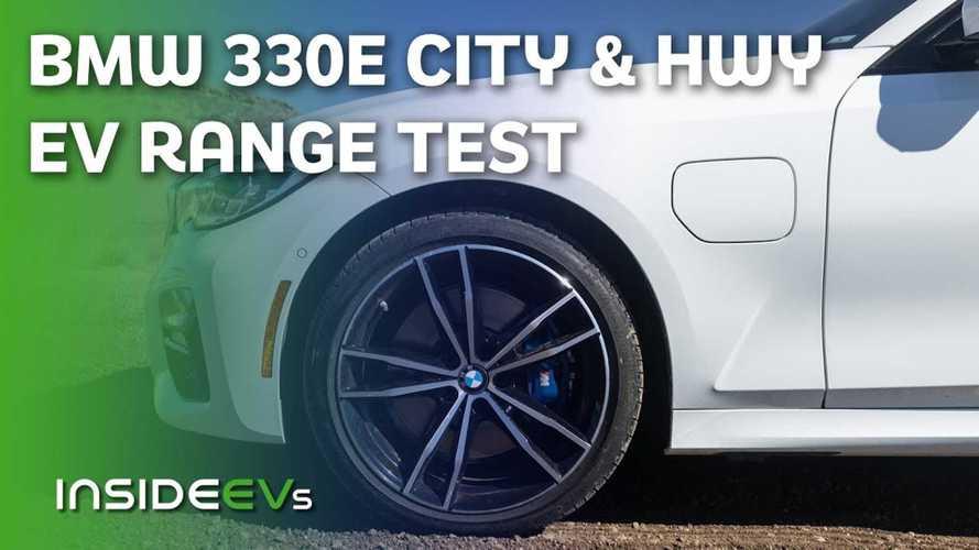 2021 BMW 330e Beats EPA EV Range Rating In InsideEVs 70 MPH Test