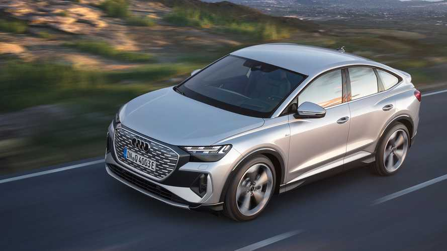 Audi Q4 e-tron und Q4 Sportback e-tron vorgestellt