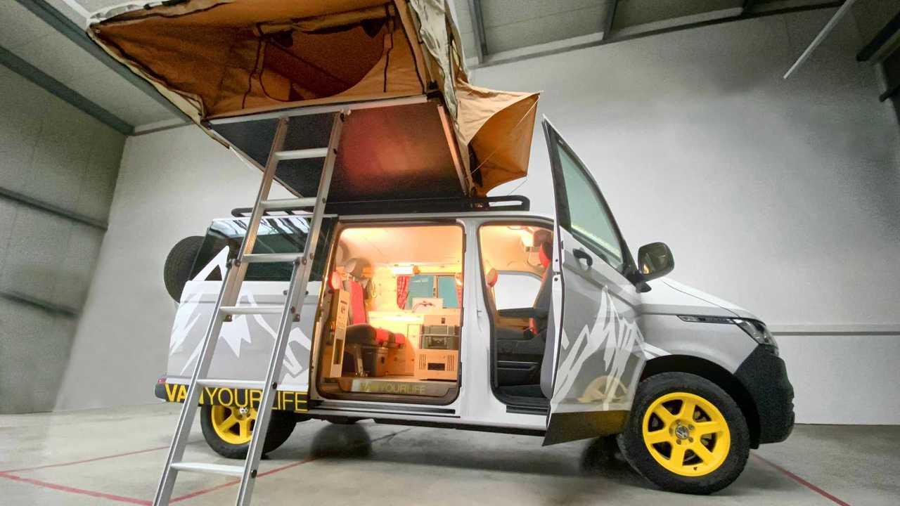 Flowcamper Casper, una Volkswagen T6 camper