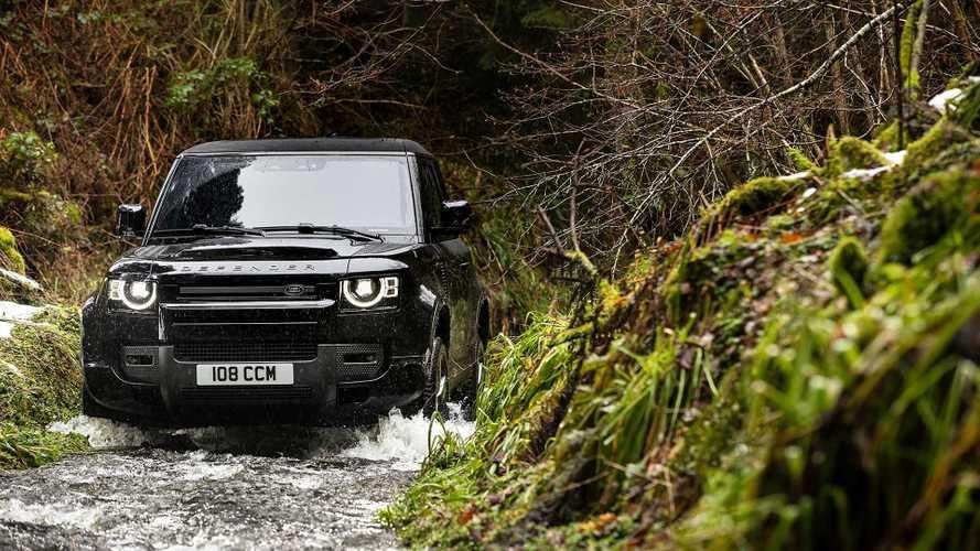 Novo Land Rover Defender de oito lugares tem fabricação confirmada