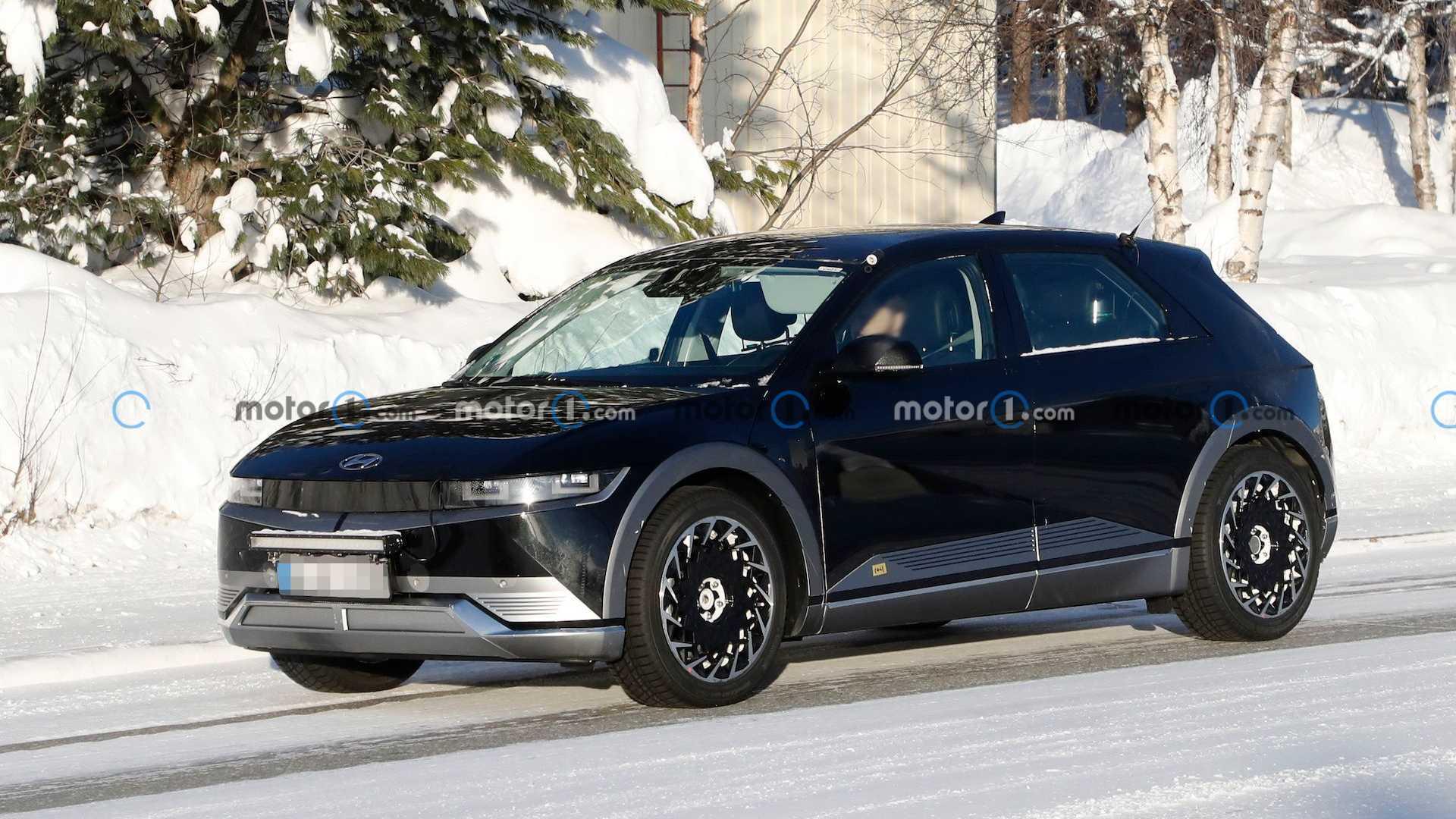 Вот как Hyundai Hot Ioniq 5 выглядит в реальной жизни